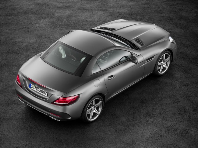 New Mercedes SLC
