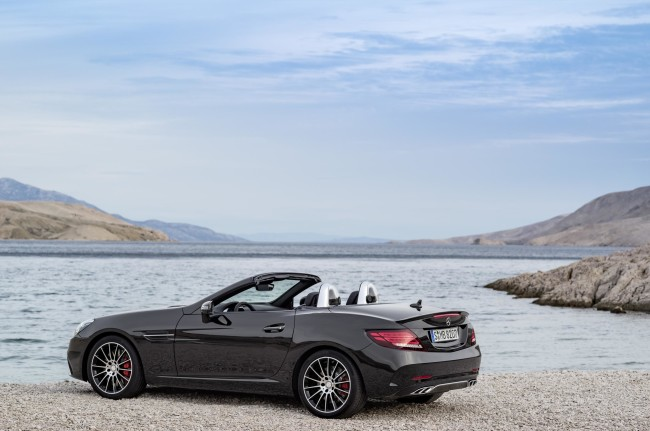 New Mercedes SLC AMG