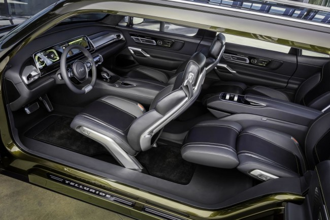 Kia Telluride_full interior