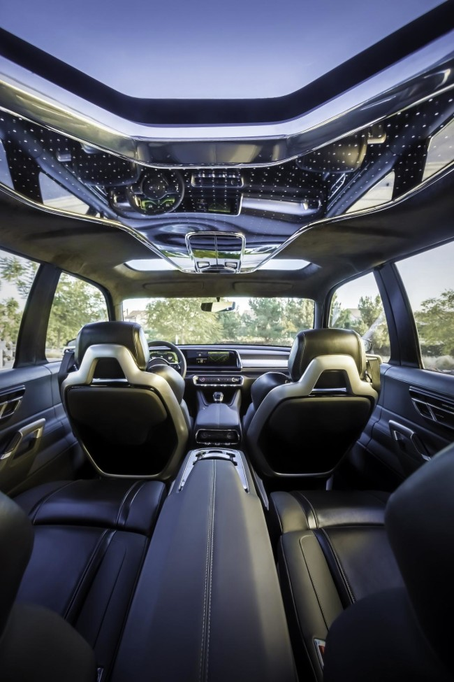 Kia Telluride_interior sunroof