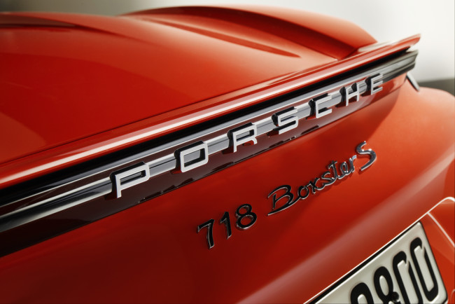 The rear now carries the 718 model designation