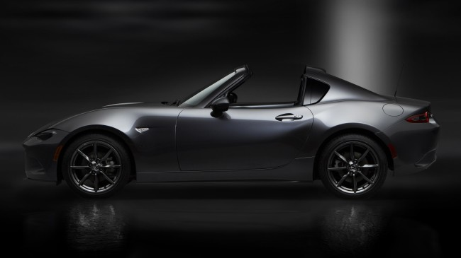 13Mazda_MX-5RF_showmodel_Side_open_black