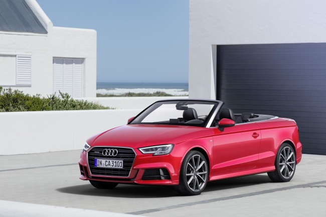 The Audi A3 Cabriolet 2