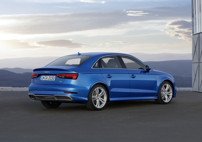 The Audi A3 Saloon
