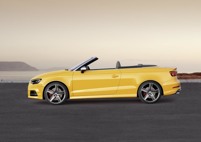The Audi S3 Cabriolet 3