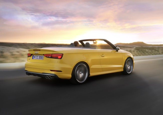 The Audi S3 Cabriolet 4