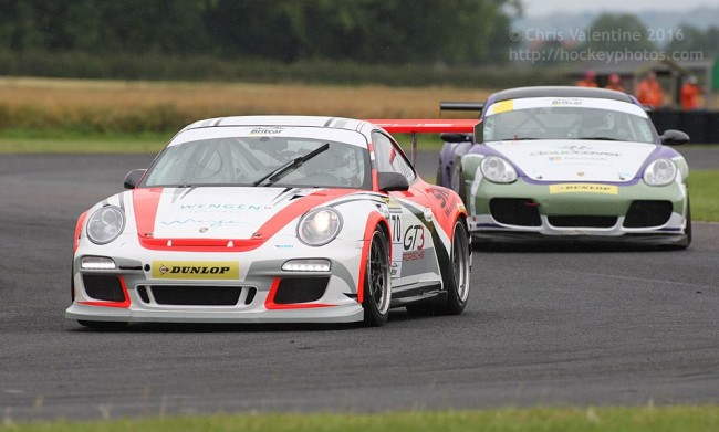 Boosted Porsche presence in the two Production races at Croft on Sunday