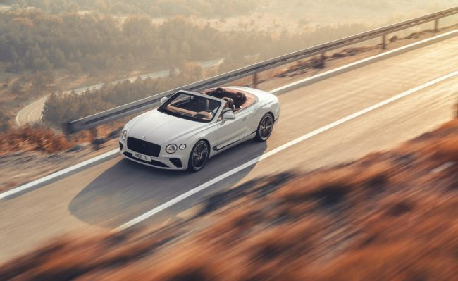 All-new third-gen Bentley Continental GT convertible revealed