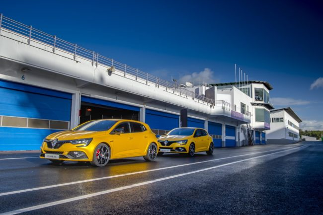 New Megane R.S. 300 Trophy on sale now