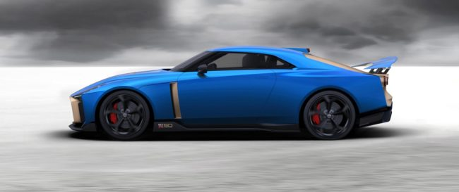 Nissan GT-R50 by Italddesign production design confirmed