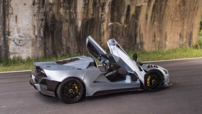 Team Tushek launches TS 900 Hybrid Hypercar at this year's Salon Privé