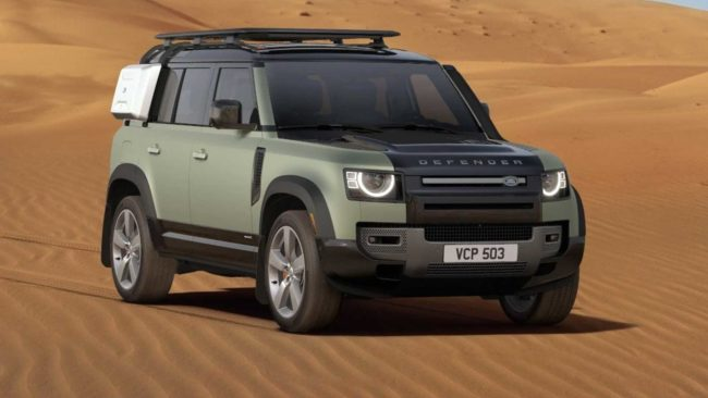 All-new 2020 Land Rover Defender has arrived - an icon reimagined