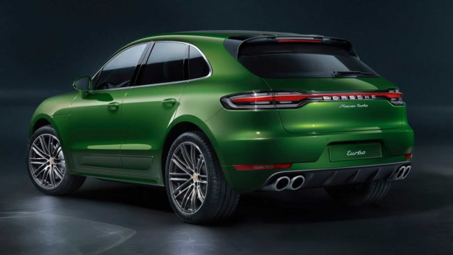 2020 Porsche Macan Turbo - stronger, faster, more agile with 440 hp